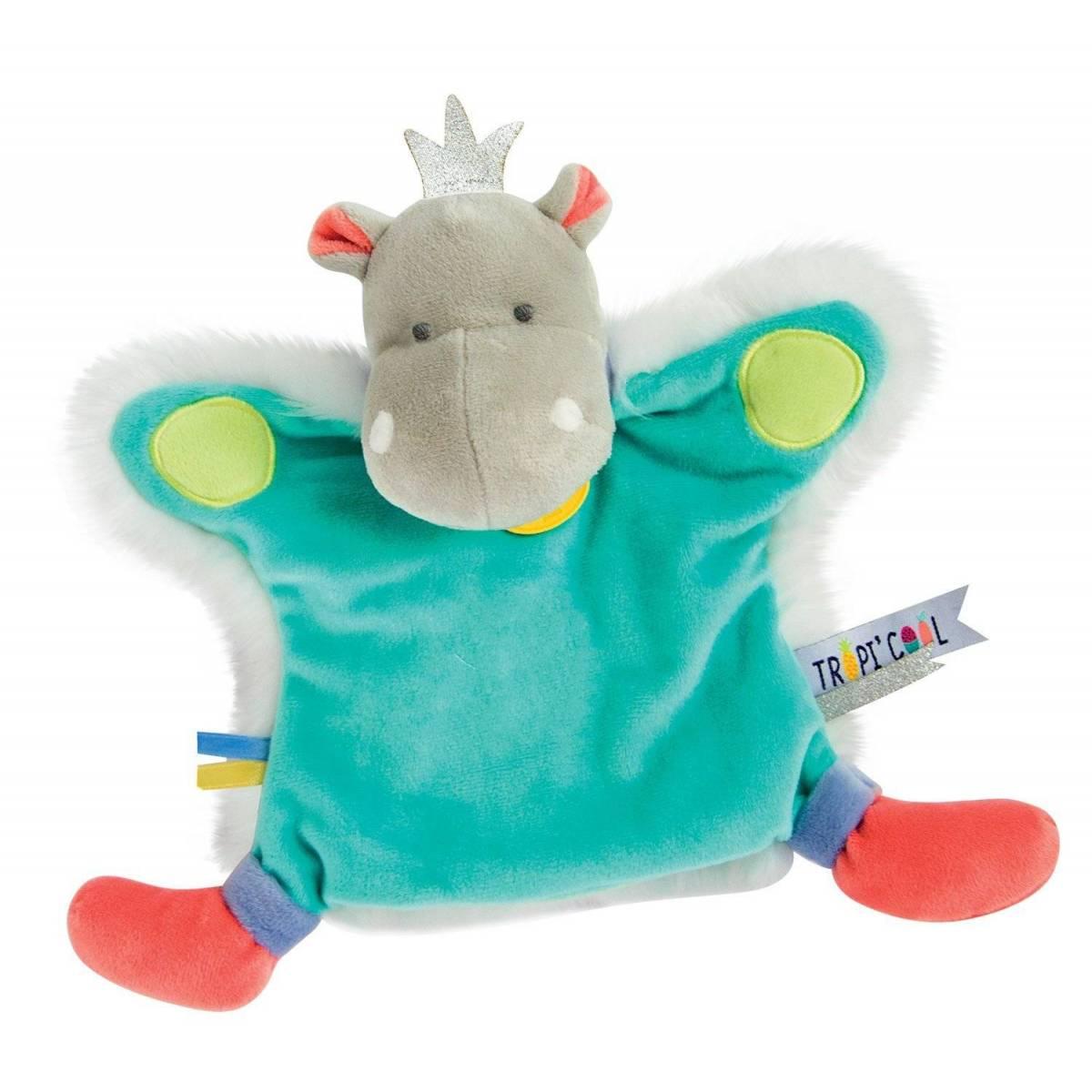 Doudou et Compagnie - Marionnette Hippo - 25 cm