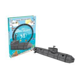 SASSI - Le Sous-Marin 3D - Livre + Maquette 3D