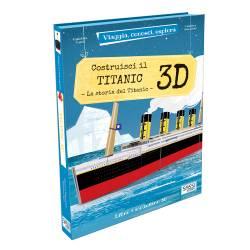 SASSI - Construis le Titanic 3D - Livre + Maquette 3D