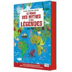 SASSI Junior - Le Monde des Mythes et des Légendes - Livre et Puzzle