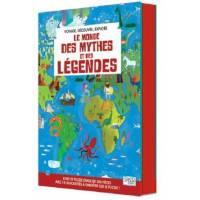 SASSI - Le Monde des Mythes et des Légendes - Livre et Puzzle