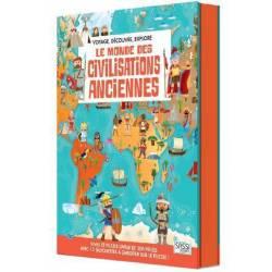 SASSI Junior - Le Monde des Civilisations Anciennes - Livre et Puzzle