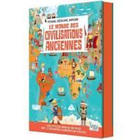 SASSI - Le Monde des Civilisations Anciennes - Livre et Puzzle