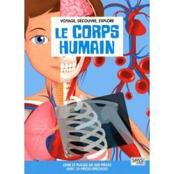 SASSI Junior - Le Corps Humain - Livre et Puzzle