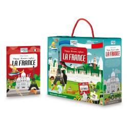 SASSI - Decouvre, Explore La France - Livre et Puzzle