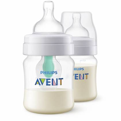 Philips Avent - Lot de 2 Biberons Anti-Colic Air Free - 125 ml