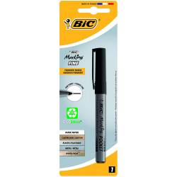 BIC - Marqueur Permanent Marking Pocket - Noir