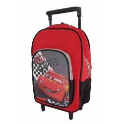 Cars - Trolley Petit Sac à dos à Roulette - 30 cm