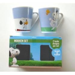 Snoopy & Friends - Lot de 2 Tasses boîte cadeaux - 105638