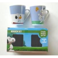 Snoopy Peanuts & Friends - Lot de 2 Mug/Tasses boîte cadeaux - 105638