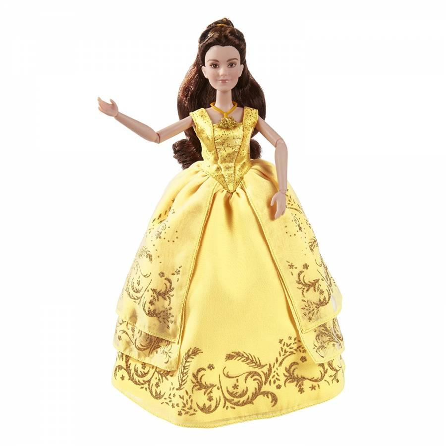 0d7a58dda5b Disney -La Belle et la Bête - Poupée Belle et sa Robe de Bal Enchantée