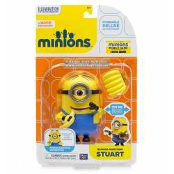 Les Minions - Figurine Stuart Banana - 15 cm