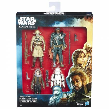 Star Wars - La Révolte de Jedha - Pack de 4 Figurines 10 cm