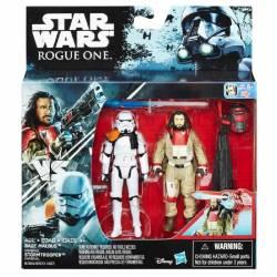Star Wars - Pack de 2 Figurines - Baze Mabus et Stormtrooper