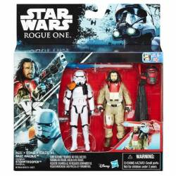 Star Wars - Pack de 2 Figurines - Baze Malbus et Stormtrooper