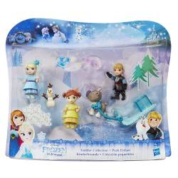 Reine des Neiges - Pack Enfants Mini-Poupées