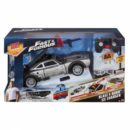Fast & Furious - Fast & Furious - Blast & Burn Ice Charger RC CAR
