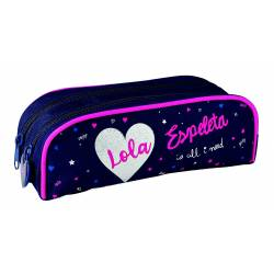 "Oberthur - Trousse Double Compartiment Lola Espeleta ""All I Need"""