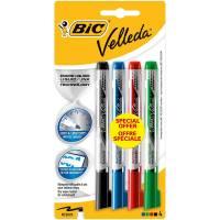 BIC - Lot de 4 Feutres Velleda Encre Liquide - Medium
