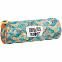 Les Minions - Trousse Ronde Plage - 7 x 22 cm