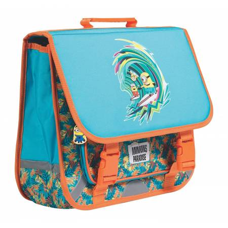 Les Minions - Cartable 38 cm Plage - 3 Compartiments