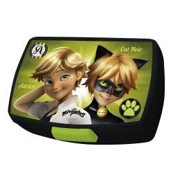 Miraculous - Lunch Box Cat Noir - Noir et Vert