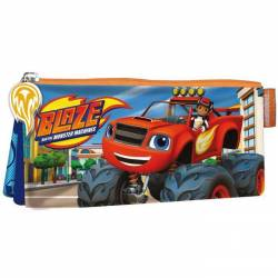 Blaze et les monster machines - TrousseN scolaire 3 Compartiments