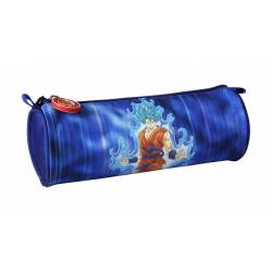 Dragon Ball - Trousse Ronde Goku Bleu - 7 x 22 cm
