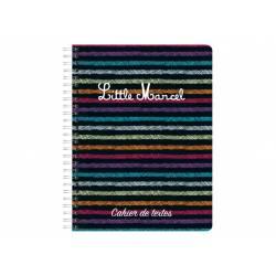 Little Marcel - Spiral Textbook - 17 x 22 cm
