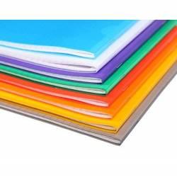 Clairefontaine - Cahier Koverbook Piqué Polypro Transparent - Grand Carreaux - 96 Pages -21 x 29.7 cm