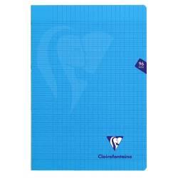 Clairefontaine - Cahier Mimesys Piqué Polypro Transparent - Séyés - 96 Pages - 21 x 29.7 cm
