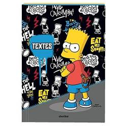 Agenda Journalier Bart SIMPSON - sept 2016 à sept 2017 - 12x17cm