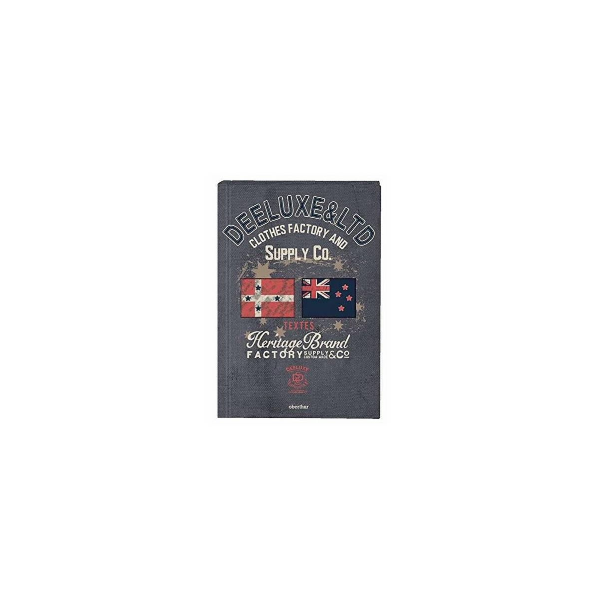 Deeluxe Heritage - Cahier de textes avec couverture rigide