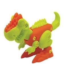 Figura costruibile di dinosauro T-Rex di design per bambini