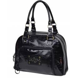 Baby On Board - Sac à langer Mon Croco Wom Bag Noir