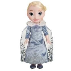 Poupée Elsa Manteau d'hiver Aventure d'Olaf 38 cm