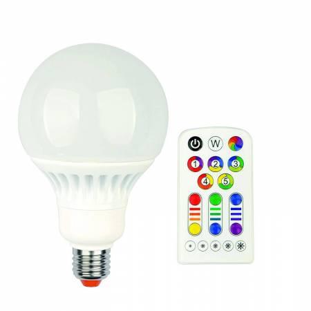 Jedi Lighting - Idual Pendant Kit LED Globe + Télécommande - 10 x 10 x 19.8 cm