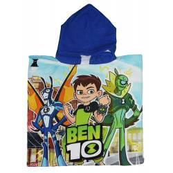 Poncho de Bain pour garçon Ben 10