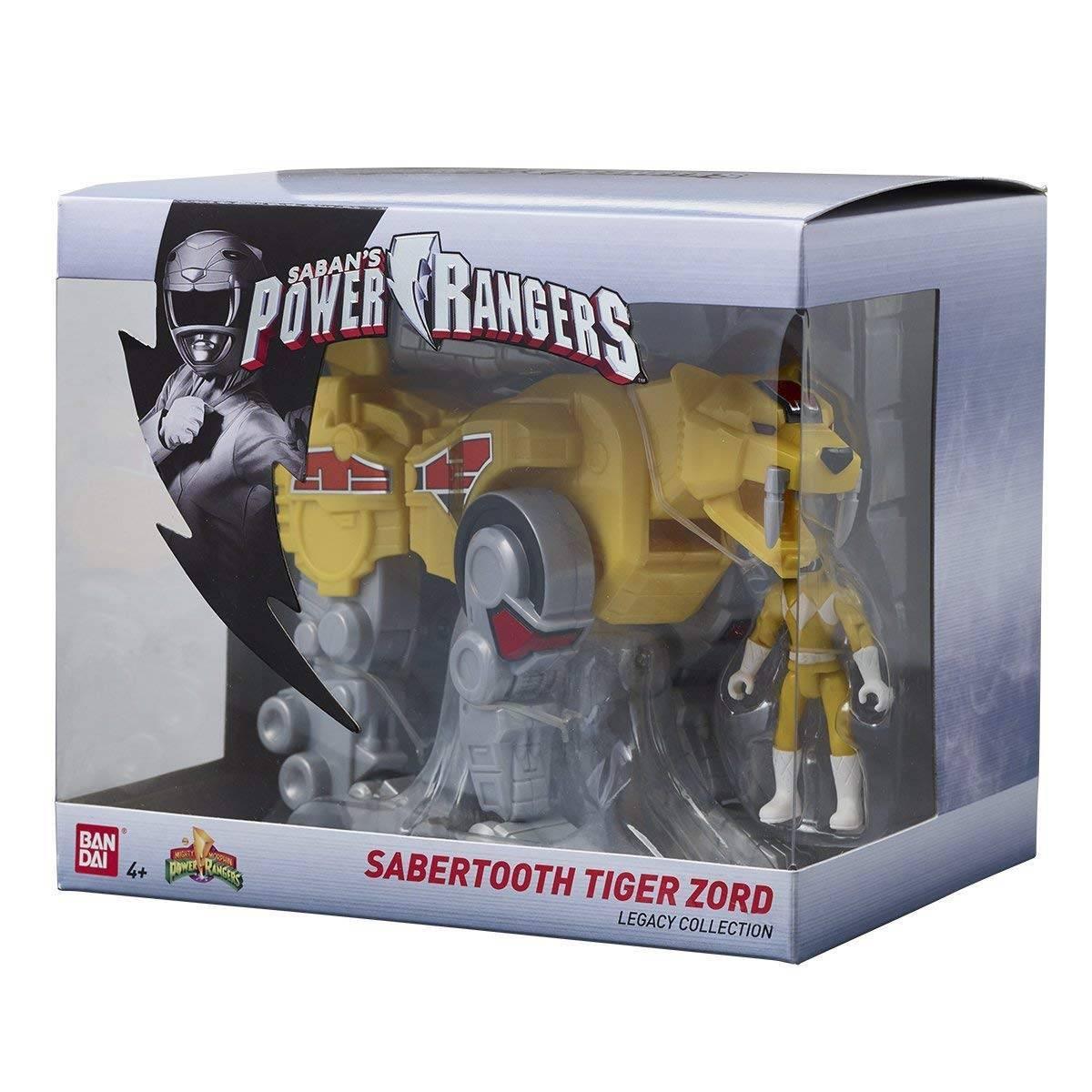 Power Rangers - Figurine Sabertooth Tiger Zord