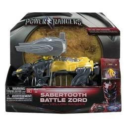 Power Ranger - Zord Légendaire Smilodon avec Ranger Jaune