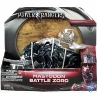 Power Rangers - Zord Légendaire Mastodonte avec Ranger Noir