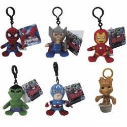 Peluche Porte-clés Avengers 10 cm