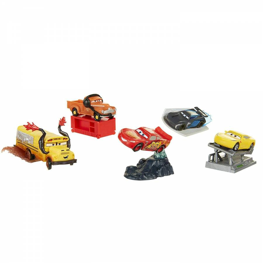 3 Jakks Lot Disney De 5 Voitures Miniatures Cars n0wOvm8N