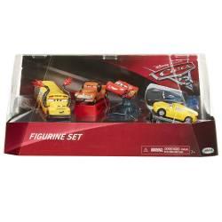 Disney Cars 3 Lot van 5 miniatuurautootjes