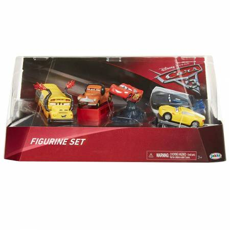 Disney Cars 3 Lot de 5 voitures miniatures