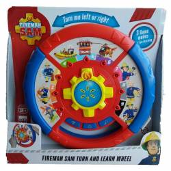 Jouets Sam Le Pompier - Roue Educative interactive