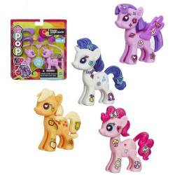My Little Pony Pop Starter Kit Set of 4 - Pinkie Pie, Applejack, Rarity & Twilight Sparkle