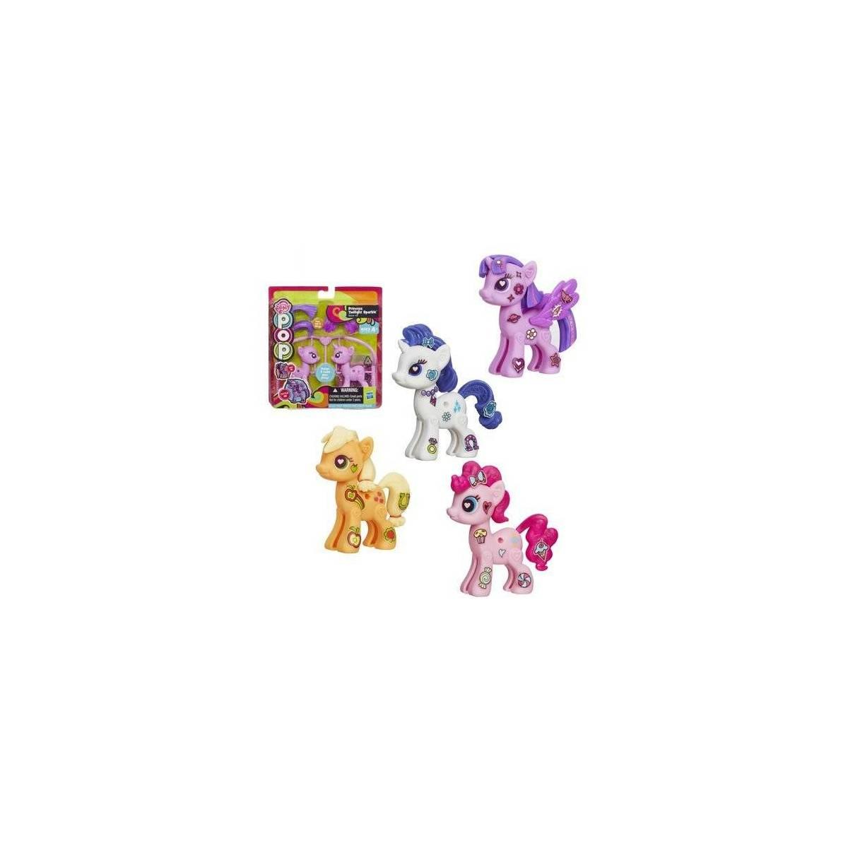 My Little Pony Pop Starter Kit Set de 4 - Pinkie Pie, Applejack, Rarity & Twilight Sparkle