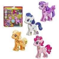 My Little Pony Pop Starter Kit Set de 4 - Pinkie Pie, Applejack, Rarity & Twilight Sparkle