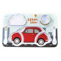Fiat Set für Kinderwagen, 500, Rot
